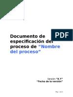 Plantilla Documenta Procesos Como Un Experto
