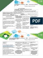 Guía de Actividad Cuarta Etapa - Sistemas de Abastecimiento de Agua