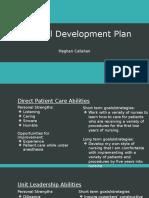 professional development plan callahan