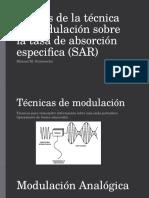 Efectos Tasa Absorción Especifica (SAR)