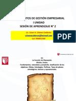 SESION 2- GESTION EMPRESARIAL