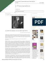 Literatura y Psicoanálisis_ La Cuestión Del Sujeto en Lacan Con Algún Rasgo Literario