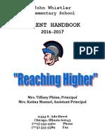 whistler parent handbook 2016-2017
