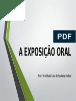 A Exposição Oral