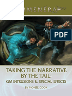 Numunera - Taking the Narrative by the Tail_ GM Intrusions and Special Effects.pdf