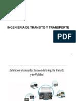Definición y conceptos Basicos  Ing. Tto y Tte