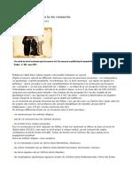 Statut Canonique Des Instituts de Vie Consacrée
