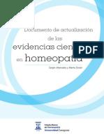 Actualizacion Evidencias Cientificas Homeopatia