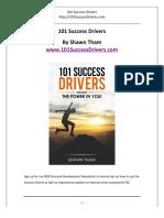 101 Success Drivers