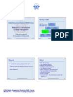 ICAO SMS Module N° 3 – Introduction to safety management 2008-11 (E)