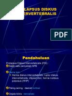 Neuro - Prolapsus Diskus Intervertebralis