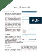 Django (Web Framework)