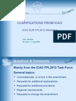ICAO Responses