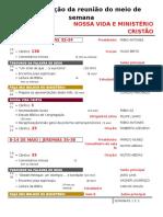 Designações - Maio - 17