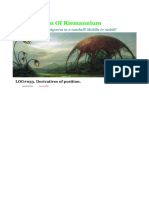 LOG#053. Derivatives of Position