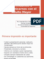 Aprendamos a Comunicarnos Con El Adulto Mayor