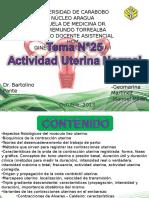 Actividad Uterina Normal