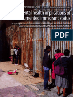 mental health implications of undocumented immigrats status