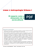 Clase 3 Antropolog a Urbana I