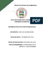 Informe Assa Practicas Preprofecionales