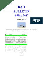 Bulletin 170501 (HTML Edition)