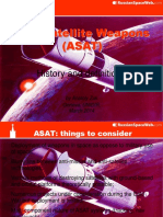 Anti Satellite Weapons Asats History and Definitions en 1968