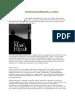 Sejarah Dan Peristiwa Awal Muharram