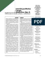 Art 2006 Enfermedad Arterial Periférica y Factores de Riesgo en Pacientes Diabéticos Tipo 2