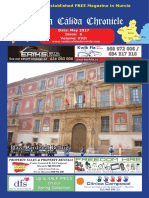 Costa Cálida Chronicle's monthly magazine May 2017