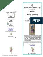 2017-26 May- Vespers-3rd Finding St John the Baptist