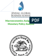 Indian Monetary Policy Analysis (2010-2017)