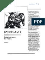 Dungeon #18 - Irongard