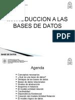 Unidad III - 1 - Bases de Datos 2017