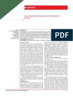 Gingival Pigmentation and Its Treatment Modalitites