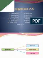 Cara Penggunaan ECG