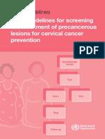 WHO guidelines for screening precancer .pdf