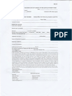 Bank Wire Form