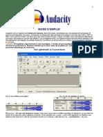 Audacity Mode d 27emploi