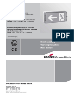 Cooper Ceag Datasheet Exit Cg s Single Sided 23 m 1