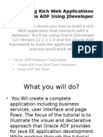 Developing Rich Web Applications With Oracle ADF (1)