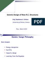 Seismic Design EC8 by Dritsos