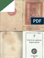 Pravila de Rugaciune-Bogorodişnaia