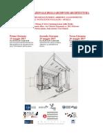 Locandina Vii Giornata Nazionale Degli Archivi Di Architettura