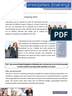 MG012 Recruitment and Interviewing Skills