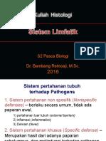 histologi S2 materi 3-Sistem limfatik S2 ringkas.ppt