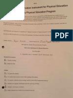 final elementary pe aim assessment
