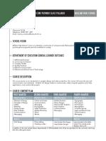 classroom management syllabus
