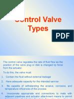 Control Valve Types