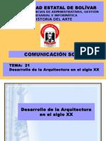 12- Arquitectura en El Siglo Xx