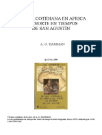Hamman Adalbert G - La Vida Cotidiana en Africa Del Norte en Tiempos de San Agustin